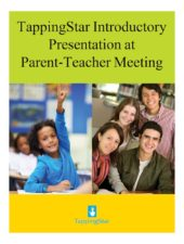 Cover-Introductory Presentation for Parent-Teacher Meeting