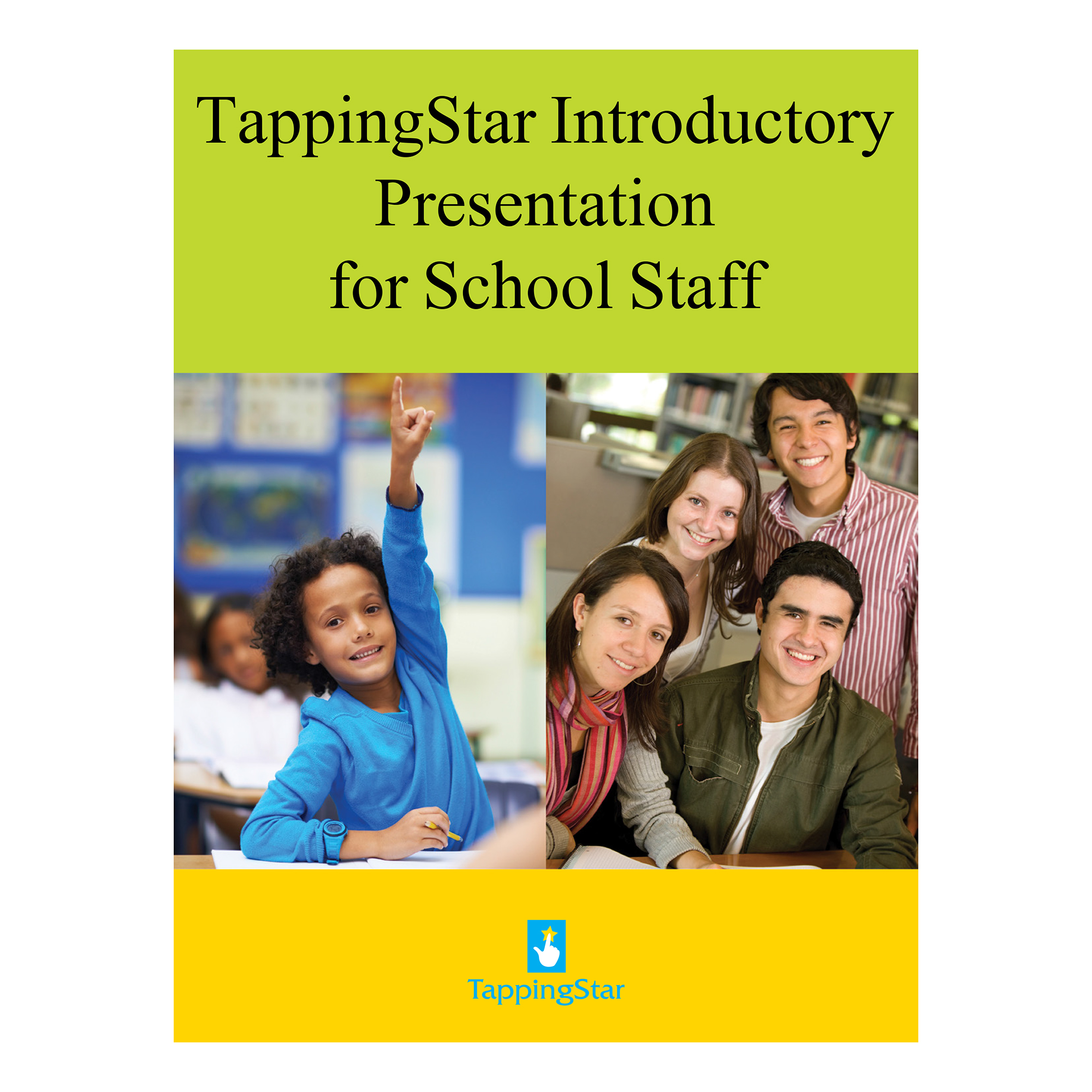 Cover-Introductory Presentation for School Staff